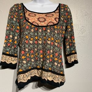 Anthropologie Guinevere Top